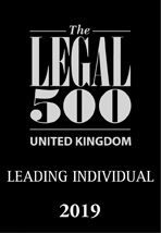 The Legal 500 UK 2019 Leading Individual