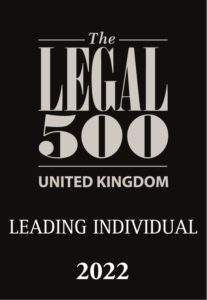 Legal 500 2022 Leading Individual