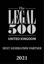 The Legal 500 UK 2021 logo Next Generation Partner