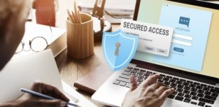 security-access-on-a-laptop-data-protection-solicitors-bournemouth