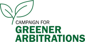 Campaign for Greener Arbitrations - Logo